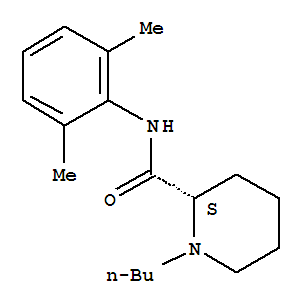 Molecular Structure of 27262-47-1 (2-Piperidinecarboxamide,1-butyl-N-(2,6-dimethylphenyl)-, (2S)-)