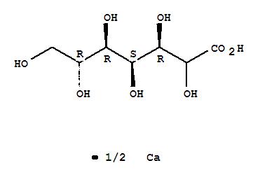 D-gluco-Heptonic acid,calcium salt (2:1), (2x)-