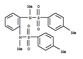 29627-62-1,Benzenesulfonamide,N,N'-1,2-phenylenebis[N,4-dimethyl-,p-Toluenesulfonamide,N,N'-o-phenylenebis[N-methyl- (8CI); NSC 101062