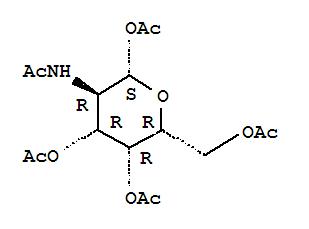 2-Acetamido-1,3,4,6-tetra-O-acetyl-2-deoxy-b-D-galactopyranose(3006-60-8)