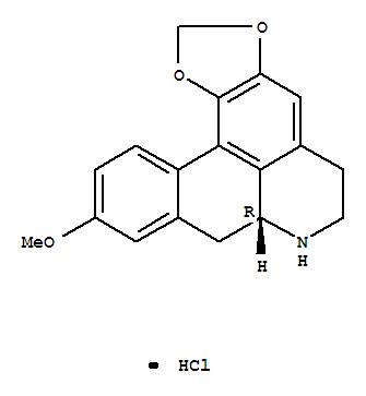 Molecular Structure of 30437-13-9 (6ab-Noraporphine,9-methoxy-1,2-(methylenedioxy)-, hydrochloride (8CI))