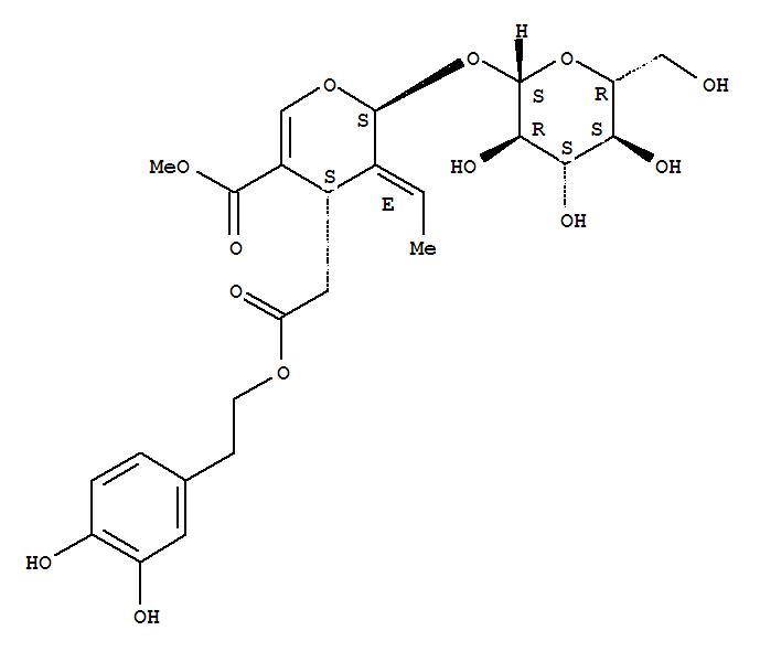 Molecular Structure of 32619-42-4 (Oleuropein)