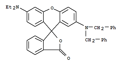 2'-(Dibenzylamino)-6'-(diethylamino)fluoran