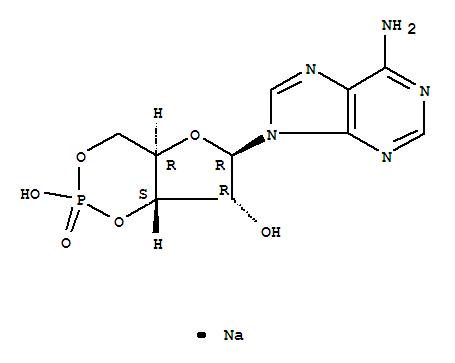 Adenosine 3′,5′-cyclic monophosphate sodium salt