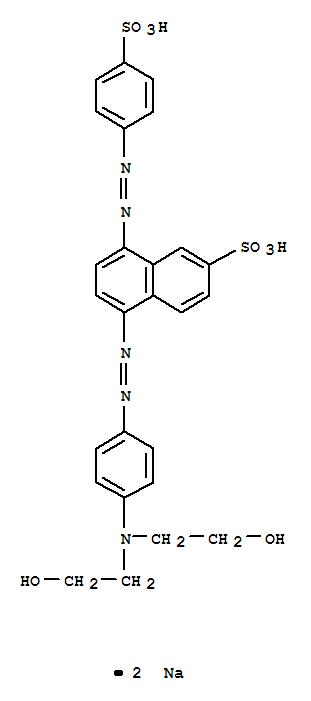DISODIUM 5-[[4-[BIS(2-HYDROXYETHYL)AMINO]PHENYL]AZO]-8-[(4-SULFONATOPHENYL)AZO]NAPHTHALENE-2-SULFONATE