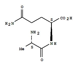 Molecular Structure of 39537-23-0 (L-Glutamine, L-alanyl-)