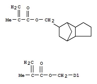 CAS NO:43048-08-4 2-Propenoic acid,2-methyl-, 1,1'-[(octahydro-4,7-methano-1H-indene-5,?-diyl)bis(methylene)]ester