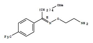 Molecular Structure of 54739-18-3 (1-Pentanone, 5-methoxy-1-[4-(trifluoromethyl)phenyl]-, O-(2-aminoethyl)oxime, (1E)-)