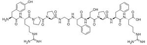 Molecular Structure of 33289-76-8 (Kallidin, 1-L-tyrosine-(8CI,9CI))