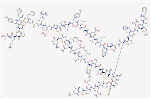 Molecular Structure of 11070-73-8 (Insulin beef)