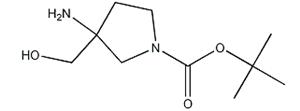 889949-18-2,tert-Butyl 3-amino-3-(hydroxymethyl)pyrrolidine-1-carboxylate,3-Amino-3-hydroxymethyl-pyrrolidine-1-carboxylic acid tert-butyl ester;