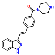 Molecular Structure of 1000669-72-6 (KW2449)