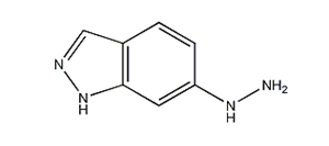 Molecular Structure of 72372-66-8 (1H-Indazole, 6-hydrazinyl-)