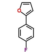 Molecular Structure of 58861-45-3 (2-(4-Fluorophenyl)furan)