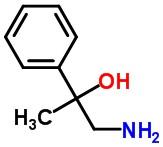 Molecular Structure of 17643-24-2 (Benzenemethanol, α-(aminomethyl)-α-methyl-)