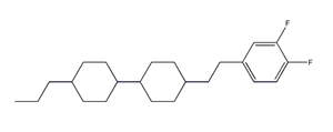 Molecular Structure of 107215-66-7 (4'-[2-(3 4-DIFLUORO-PHENYL)-ETHYL]-4-PROPYL-BICYCLOHEXYL)
