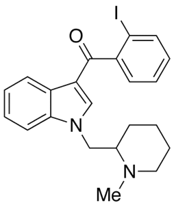 Molecular Structure of 444912-75-8 (AM-2233)