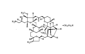 Molecular Structure of 441045-17-6 (Eribulin mesylate)