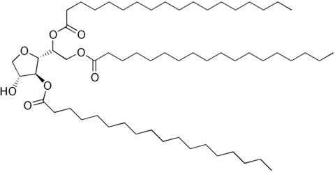 Molecular Structure of 26658-19-5 (Sorbitan tristearate)