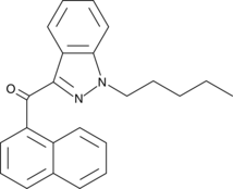 Molecular Structure of 1364933-55-0 (THJ 018)