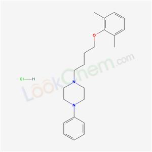 2033-72-9,Piperazine, 1-phenyl-4-(4-(2,6-xylyloxy)butyl)-, hydrochloride,