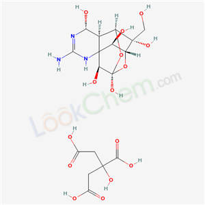 Tetrodotoxin, citrate (1:1) (salt)