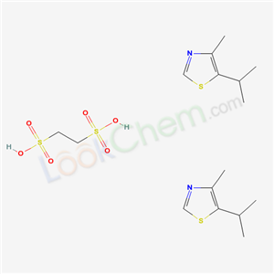 29584-87-0,5-Isopropyl-4-methylthiazole 1,2-ethanedisulfonate hydrate,