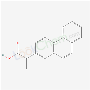 40452-14-0,alpha-Methyl-2-phenanthreneacetic acid,