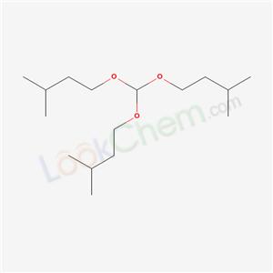 5337-70-2,1-[bis(3-methylbutoxy)methoxy]-3-methyl-butane,