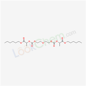 5396-39-4,hexyl 2-[2-[2-(1-hexoxycarbonylethoxycarbonyloxy)ethoxy]ethoxycarbonyloxy]propanoate,