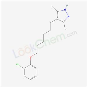 5361-03-5,4-[6-(2-chlorophenoxy)hexyl]-3,5-dimethyl-1H-pyrazole,
