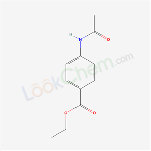 Molecular Structure of 5338-44-3 (4-(Acetylamino)-benzoic acid ethyl ester)