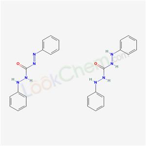 10329-15-4,S-Diphenylcarbazone,N,2-Diphenyldiazenecarbohydrazide compound with N,N-diphenylcarbonohydrazide (1:1);3-anilino-1-phenylimino-urea; 1,3-dianilinourea;