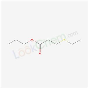 5402-69-7,propyl 3-ethylsulfanylpropanoate,
