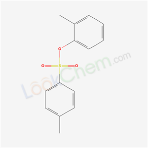 Molecular Structure of 599-75-7 (o-Tolyl p-toluenesulfonate)