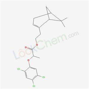 5421-67-0,2-(7,7-dimethyl-4-bicyclo[3.1.1]hept-3-enyl)ethyl 2-(2,4,5-trichlorophenoxy)propanoate,