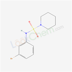 5433-46-5,N-(3-bromophenyl)piperidine-1-sulfonamide,