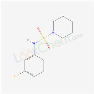 5433-46-5,N-(3-bromophenyl)piperidine-1-sulfonamide,