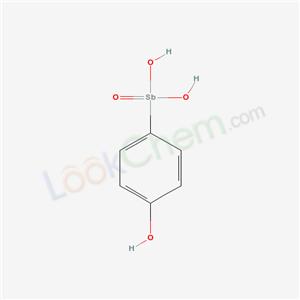 5430-19-3,(4-hydroxyphenyl)stibonic acid,