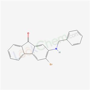 94551-21-0,2-(benzylamino)-3-bromo-fluoren-9-one,