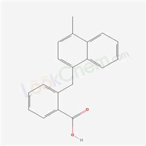 7248-49-9,2-[(4-methylnaphthalen-1-yl)methyl]benzoic acid,2-[(4-methylnaphthalen-1-yl)methyl]benzoic acid