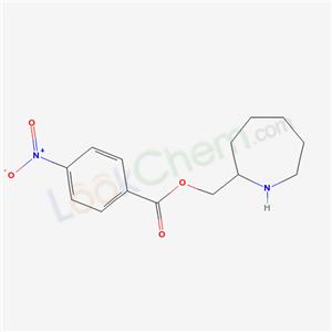 5449-24-1,azepan-2-ylmethyl 4-nitrobenzoate,
