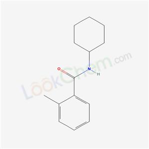 6641-67-4,N-cyclohexyl-2-methyl-benzamide,