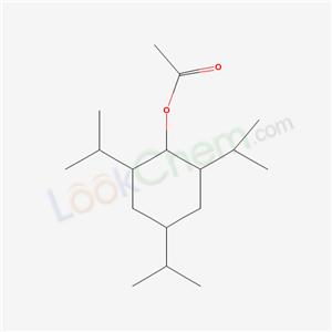 5441-53-2,(2,4,6-tripropan-2-ylcyclohexyl) acetate,