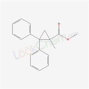 6975-21-9,methyl 1-methyl-2,2-diphenyl-cyclopropane-1-carboxylate,