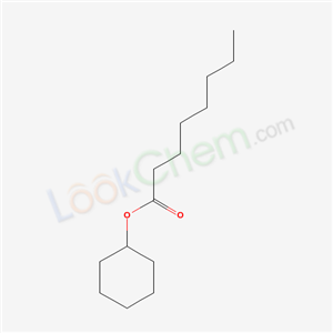 1551-42-4,cyclohexyl octanoate,