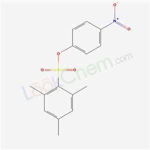 5465-83-8,1,3,5-trimethyl-2-(4-nitrophenoxy)sulfonyl-benzene,