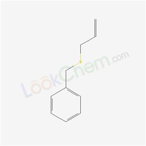 6937-97-9,prop-2-enylsulfanylmethylbenzene,