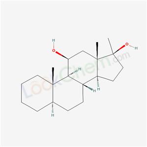 7100-29-0,5.alpha.-Androstane-11.beta.,17.beta.-diol, 17-methyl-,