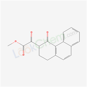 6321-59-1,methyl 2-oxo-2-(4-oxo-2,3-dihydro-1H-phenanthren-3-yl)acetate,